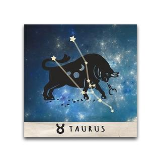 Taurus Zodiac Metal Printed on Metal