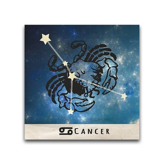 Cancer Zodiac Metal Printed on Metal