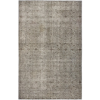 Ecarpetgallery Hand-knotted Color Transition Grey Wool Rug (5'3 x 8')