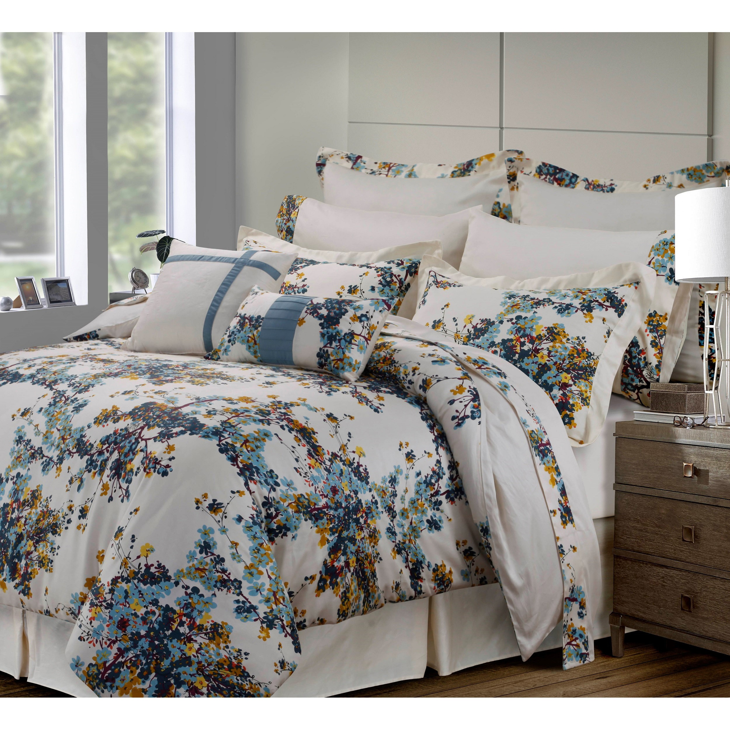 Casablanca Cotton 12 Piece Bed In A Bag With Deep Pocket Sheet Set On Sale Overstock 11686581