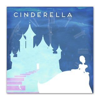 Cinderella Fairy Tales 12x12 Kid's Room Printed on a Heavyweight Matte Poster