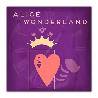 Alice Fairy Tales 12x12 Kid's Room Printed on a Heavyweight Matte Poster