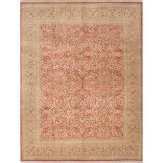 Ecarpetgallery Hand-knotted Peshawar Oushak Brown Wool Rug (8' x 10'8)