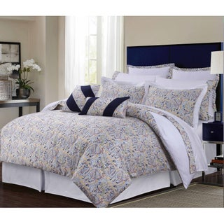 Fiji Multicolor Paisley Cotton Sateen 12-piece Bed in a Bag