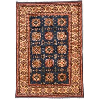 Ecarpetgallery Hand-knotted Finest Kargahi Blue Wool Rug (7'2 x 10'2)