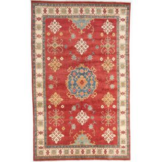 Ecarpetgallery Hand-knotted Finest Gazni Red Wool Rug (7'3 x 11'8)