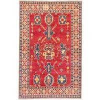 Ecarpetgallery Hand-knotted Finest Gazni Red Wool Rug (6'6 x 10'2)