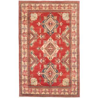 Ecarpetgallery Hand-knotted Finest Gazni Red Wool Rug (6'7 x 10'6)