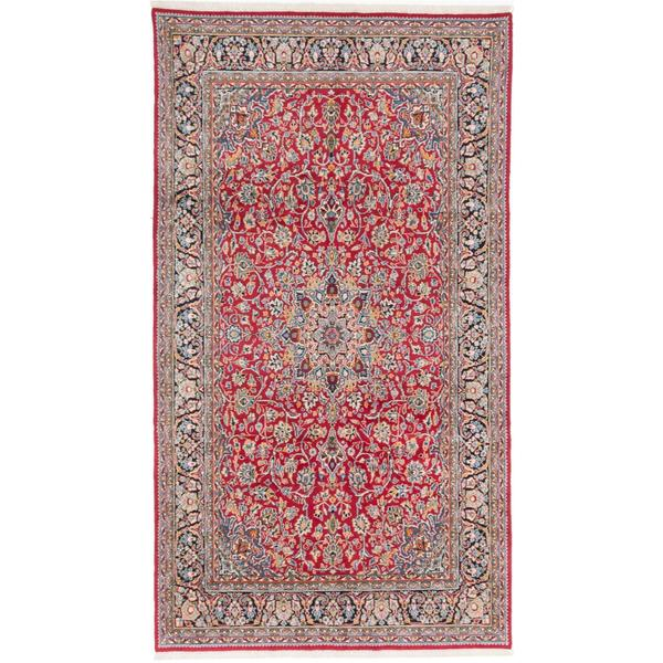 Ecarpetgallery Hand-knotted Persian Classic Persian Red Wool Rug (6'3 x 11')