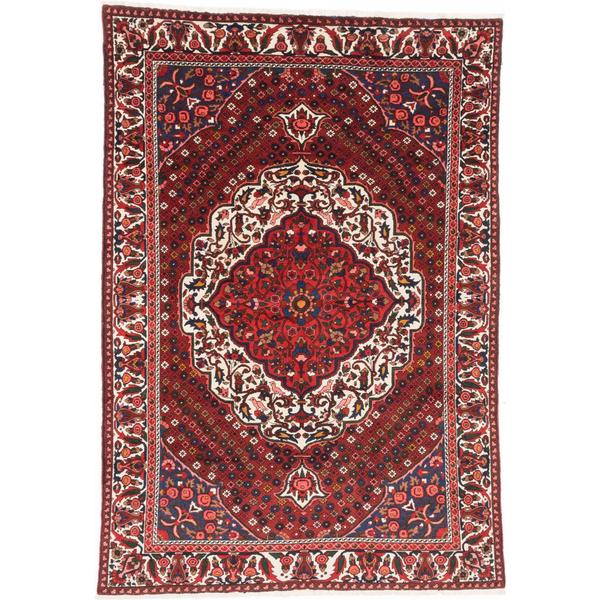 Shop Ecarpetgallery Hand Knotted Persian Kashan Red Wool: Shop Ecarpetgallery Hand-knotted Persian Bakhtiar Beige