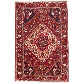 Ecarpetgallery Hand-knotted Persian Bakhtiar Red Wool Rug (6'8 x 10'2)