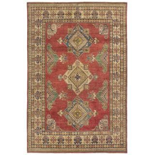 Ecarpetgallery Hand-knotted Finest Gazni Red Wool Rug (6'11 x 10'5)