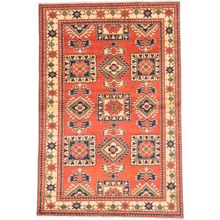 Ecarpetgallery Hand-knotted Finest Kargahi Brown Wool Rug (6'7 x 9'11)