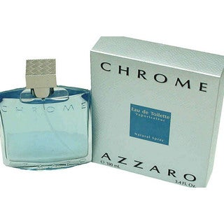 Loris Azzaro Chrome Men's 3.4-ounce Eau de Toilette Spray