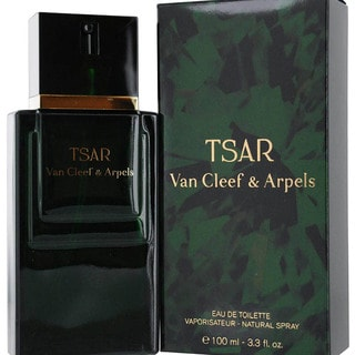 Tsar by Van Cleef and Arpels Men's 3.3-ounce Eau de Toilette Spray