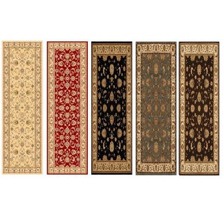 Home Dynamix Triumph Collection Traditional Polypropylene Machine Made Area Rug (2'2 x 7'6) - 2'2 x 7'6