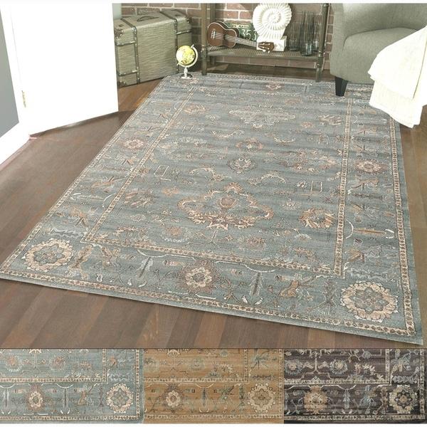 Admire Home Living Corina Oriental Area Rug (3'3 x 4'11) - 3'3 x 4'11