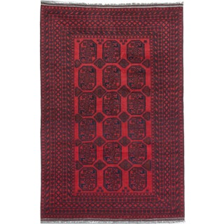 Ecarpetgallery Hand-knotted Khal Mohammadi Red Wool Rug (6'6 x 9'10)
