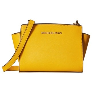 Michael Kors Selma Sunflower Mini Crossbody Handbag