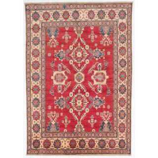 Ecarpetgallery Hand-knotted Finest Gazni Red Wool Rug (6'5 x 9'3)