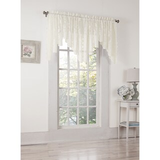 No. 918 Alison Rod Pocket Lace Window Valance (2 options available)