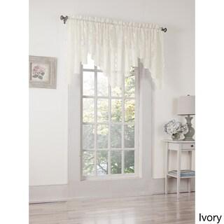 No. 918 Alison Lace Rod Pocket Window Valance