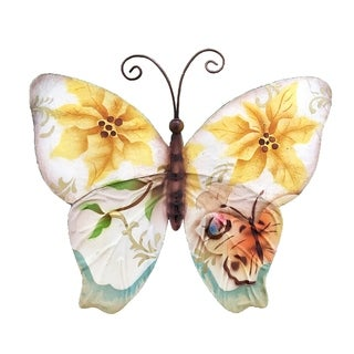Butterfly Small Sunflowers and Pearls Garden Decoration
