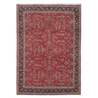 Ecarpetgallery Hand-knotted Persian Bijar Brown Wool and Silk Rug (6'10 x 9'9)