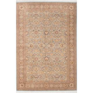 Ecarpetgallery Hand-knotted Pako Persian 18/20 Blue Wool Rug (6'4 x 9'5)