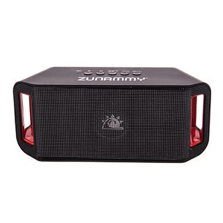 Zunammy LED Black 1200 MAH Portable Bluetooth Speaker with build in Microphone