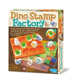 4M Build Your Own Dino Stamp Factory