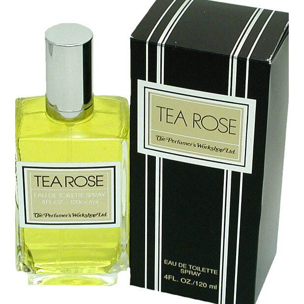 Tea Rose by Perfumers Workshop 4-ounce Eau de Toilette Spray for Women