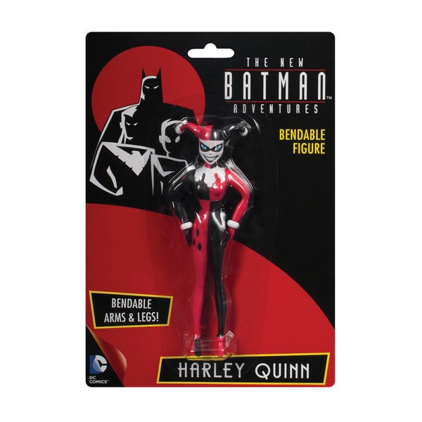 DC Comics Harley Quinn Bendable Action Figure