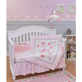 Garden District 5-piece Nursery Bedding and Bumper Set
