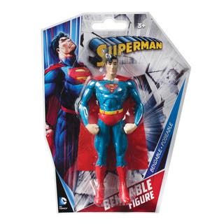 DC Comics Superman Classic Bendable Figure|https://ak1.ostkcdn.com/images/products/11687201/P18613145.jpg?impolicy=medium