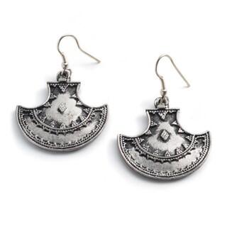 Maratha Silver Queen Earrings (India)