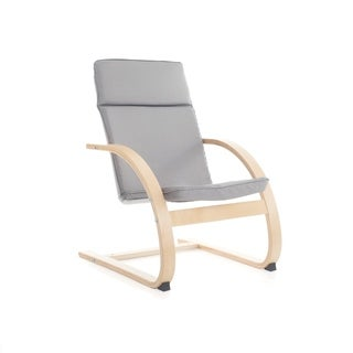 Grey Nordic Rocking Chair