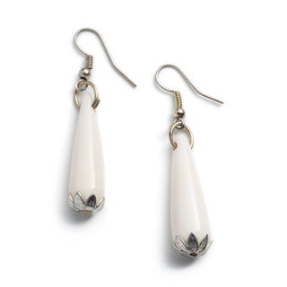 Anika Silver Teardrop Earrings (India)