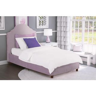 DHP Savannah Lilac Upholstered Bed