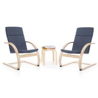 Denim Kiddie Rocker Chair Set