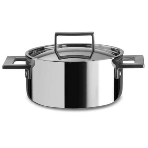 Stainless Steel Casserole Dish with Lid