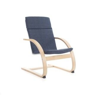 Denim Nordic Rocking Chair
