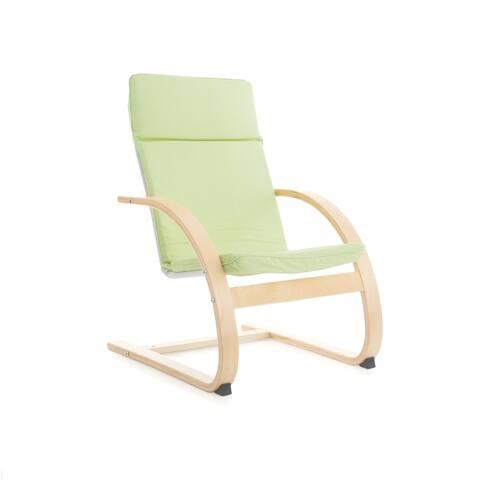 Sage Green Nordic Rocking Chair