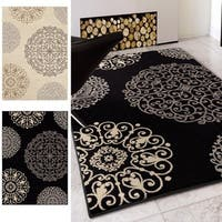 Silver Orchid Kling Beige Area Rug - 5'3 x 7'6