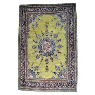 Antique Persian Mansion Size Khorasan Handmade Rug (16'6 x 24'8)