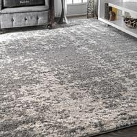 Porch & Den Williamsburg Seigel Granite Mist Shades Grey Rug (7'6 x 9'6)
