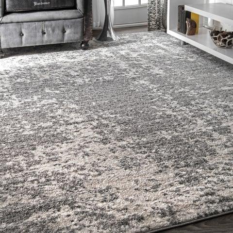 Porch & Den Williamsburg Seigel Granite Mist Shades Grey Rug - 8'2 x 11'6