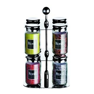 Mepra Two Layer Eight Bottle Spice Dispenser