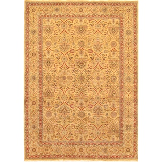 Pasargad Tabriz Hand-knotted Camel Wool Rug (9' x 12')