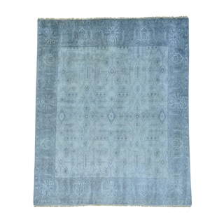 Tone on Tone Serapi Heriz Hand Knotted Pure Wool Rug (8' x 9'8)